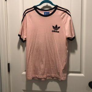 Baby Pink Adidas Shirt